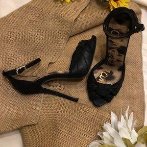 "Women's Sam Edelman black SYLVIE 5"" heels"